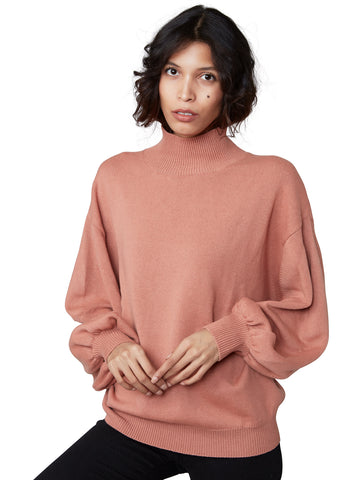 Sissi - Turtleneck Balloon Sleeves