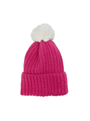 Cloud Nine Pompom-Beanie Hat