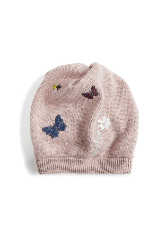 Puffo Firefly -Embroidered Hat or Neck Warmer