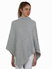 Matilda-Poncho with Cables