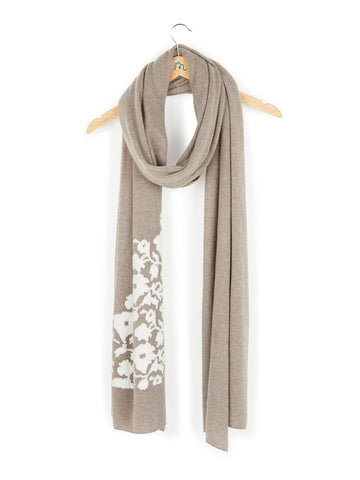 Panarea -Maxi Shawl Embroidered