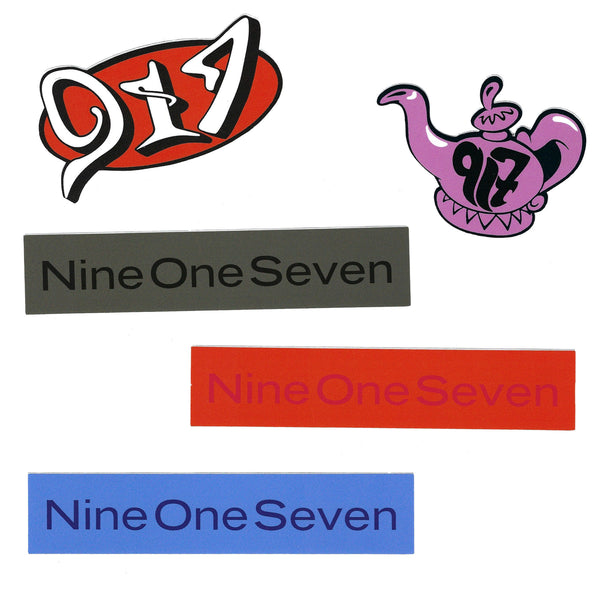 917 SS18 Sticker Pack