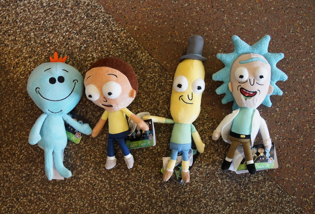 Rick and Morty Assorted Galactic Plush