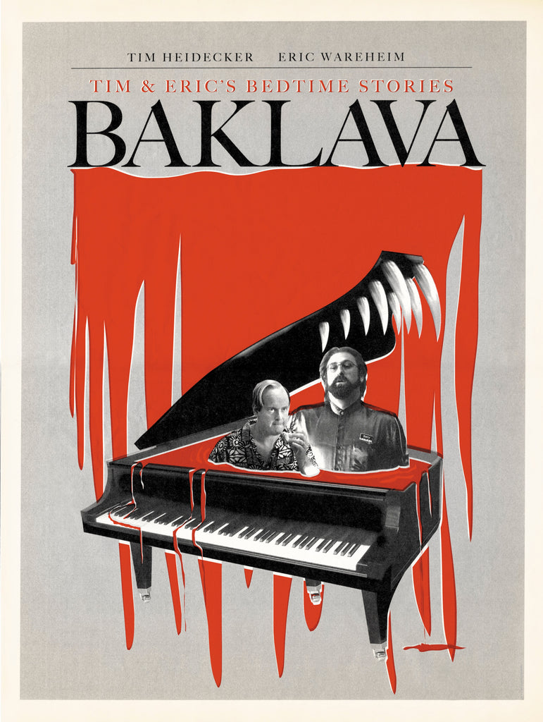 "Tim & Eric Bedtime Stories ""Baklava"" Poster"