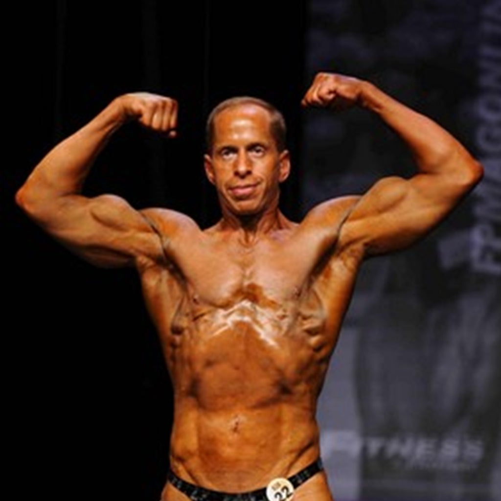 Nothing is impossible for bodybuilder and amputee Richard Herskovitz