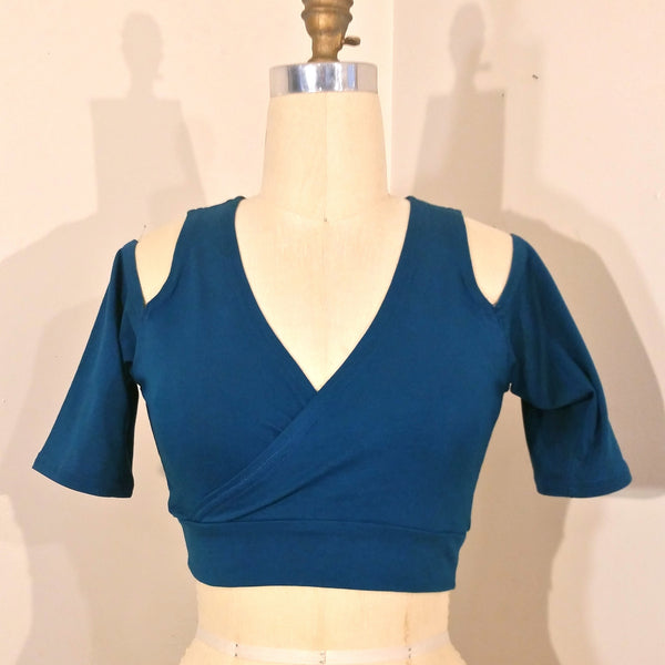 Cut Out Cross Front Top