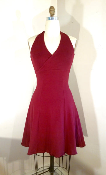 Shortie Halter Dress
