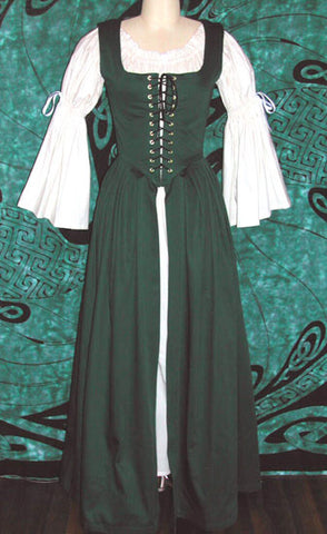 Irish Dress by Crimson Gypsy Designs