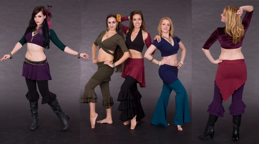 Belly Dance and Yoga Wear by Crimson Gypsy Designs