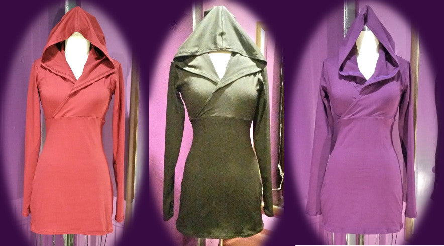 BDYWear - Belly Dance and Yoga Wear Stealth Hoodie Triplet