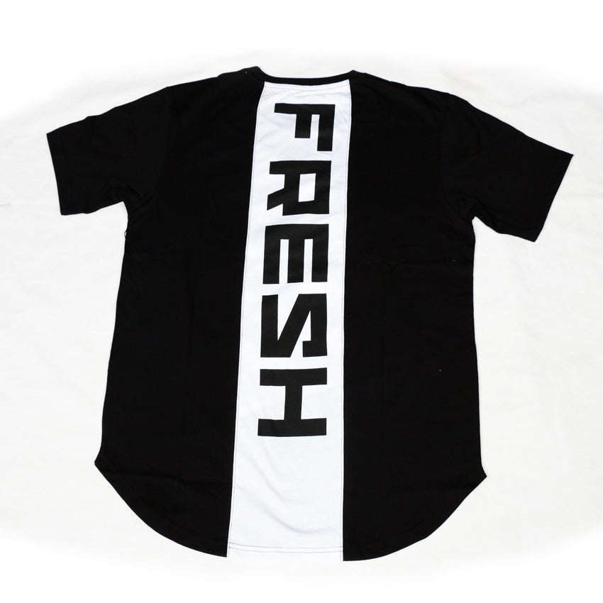Fresh Dimension Elongated Tee