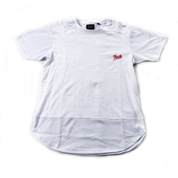 Fresh Runner Elongated Tee (White)