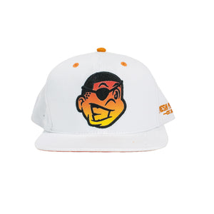 Fresh Phamily Knucklehead Snapback (White/Sunfire)