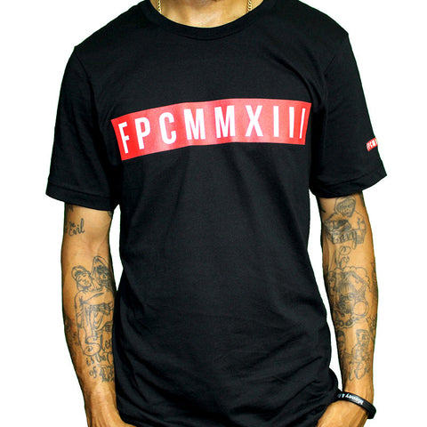 Black FPCMMXIII Red Label T-shirt