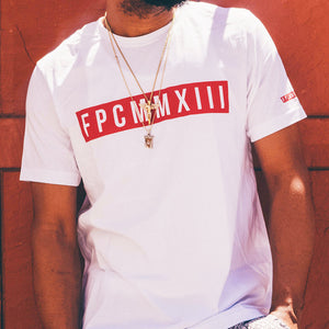 White FPCMMXIII Red Label T-shirt