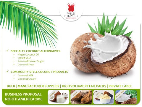 Coconut Products Business Proposal