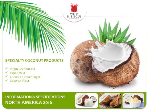 Coconut Products Information Sheets