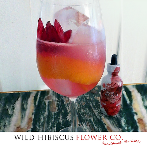 Rose+Hibiscus Cooler