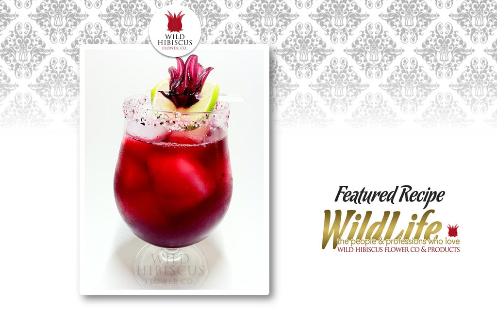 """The Hibiscus Margarita"""