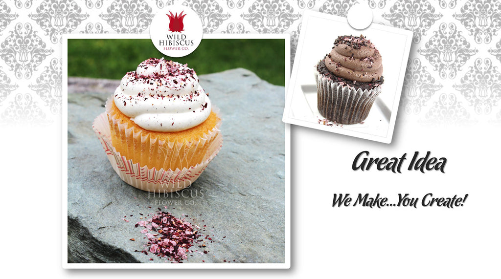 Wild Hibiscus Flower Salted Frosting