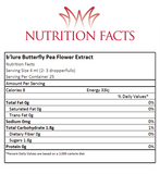 B'lure Flower Extract Nutrition Facts