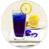 Heart-Tee Butterfly Pea Flower Tea Drink