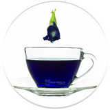 Heart-Tee Butterfly Pea Flower Tea In Tea Cup