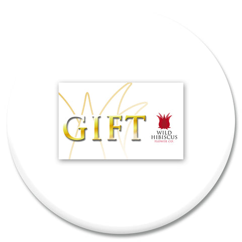 Wild Hibiscus Gift Card
