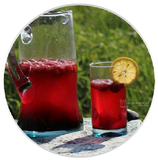Hibiscus Heart-Tee Summer Cooler