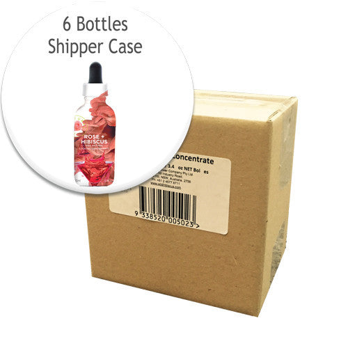 Rose + Hibiscus Flower Extract - 6 Unit Case