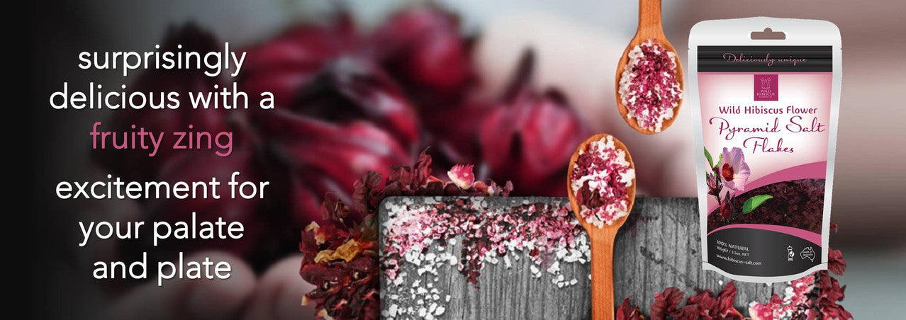 Wild Hibiscus Flower Salts