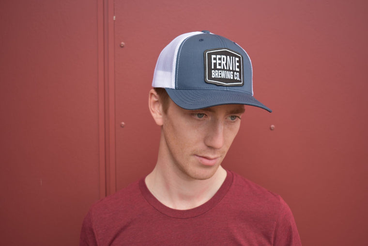 Hat - Navy/White Trucker