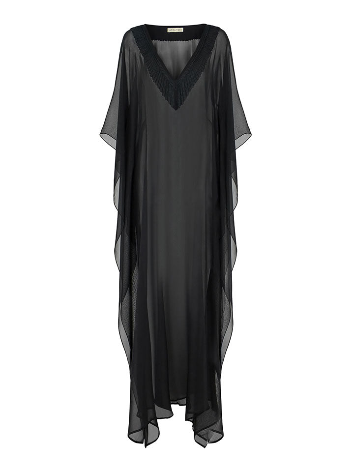 Navin (Midnight Black Chiffon)