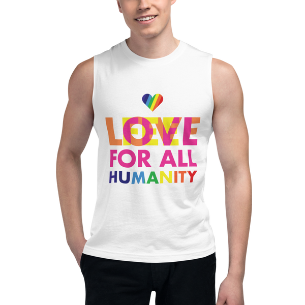 Love/Feel For All Humanity Muscle Shirt (M & F)