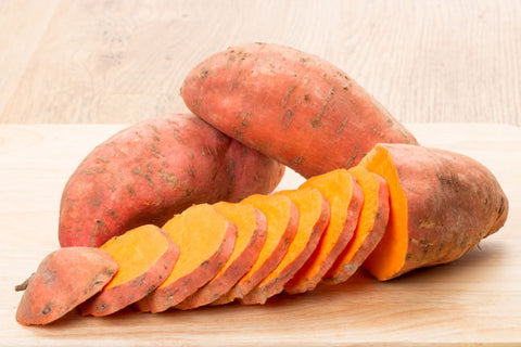 Healthy Foods for Curls - Sweet Potatoes