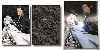 Heroic Legend of Arslan Clear File 3 Pocket A Arslan & Daryun Kadokawa Licensed