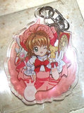 Card Captor Sakura Trading Key Chain Sakura A Takara Tomy ARTS CLAMP Licensed