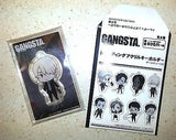 GANGSTA. Trading Acrylic Key Chain Delico Canaria Bandai Visual Licensed New
