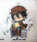 Bungo Stray Dogs x Love Heaven Felt Keychain Ranpo Edogawa Kadokawa Licensed New