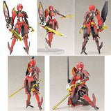 Phantasy Star Online 2 Shiki Akaonihime Full Action Model Kit Kotobukiya License