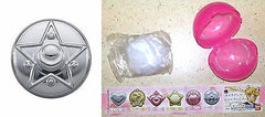 Sailor Moon Make-Up Beauty Mirror Crystal Star Compact Gashapon Bandai Licensed