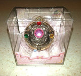 Sailor Moon Miniaturely Tablet 2 Henshin Brooch Key Chain Bandai Authentic New
