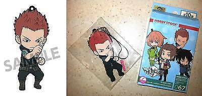 World Trigger Rubber Strap + Phone Jack V.2 Reiji Kizaki Toei Licensed New