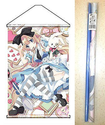 Charama Tapestry Fairy Story Alice in Wonderland Wall Scroll Ami Ami Zero New