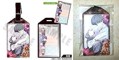 Tokyo Ghoul Carry-s Luggage Tag Pass Case Ken Kaneki A Cafe Reo Pierrot License