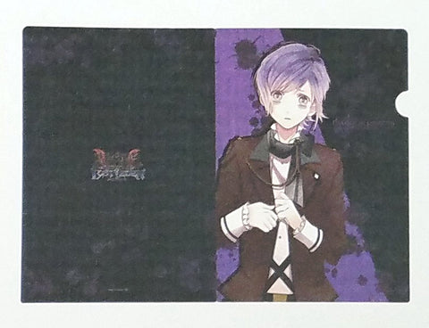 Diabolik Lovers Lost Eden Clear File V1 Kanato Sakamaki A4 sz Reject Licensed NW