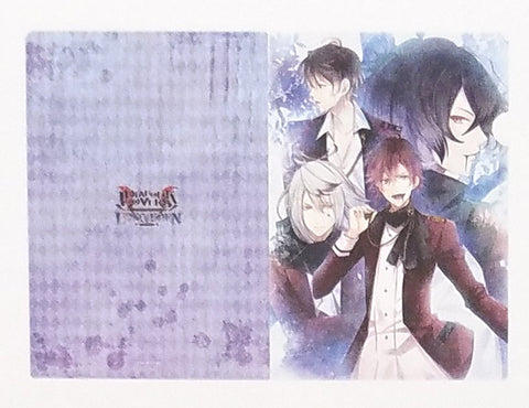 Diabolik Lovers Lost Eden Clear File V1 Carla Ruki Ayato Kino A4 Reject Licensed
