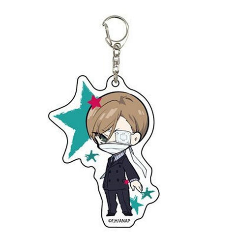 Anonymous Noise Acrylic Key Chain 01 Kanade Yuzuriha Yuzu Cheshire Licensed New