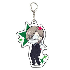 Anonymous Noise Acrylic Key Chain 01 Ayumi Kurose Kuro Mad Hatter Licensed New