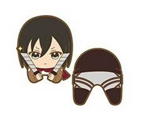 Attack on Titan Nokkari Rubber Clip Mikasa Ackerman Shingeki no Kyoujin Licensed
